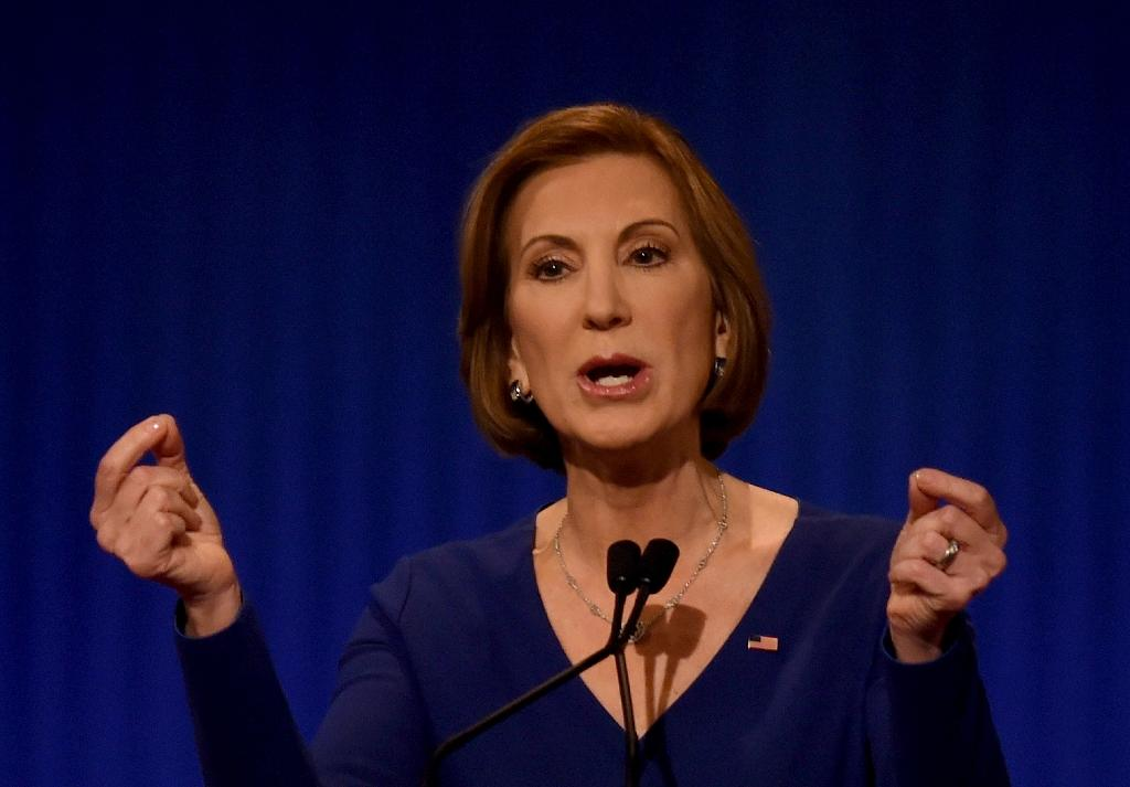 Former Hewlett-Packard boss Fiorina ends White House bid