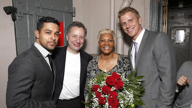 IMAGE DISTRIBUTED FOR BRIGHT FUTURE INTERNATIONAL - From left, Wilmer Valderrama, BFI Founder Anthony Meiikhov, Dionne Warwick and Sean Lowe attend Beyond the Ballet Presented by Bright Future International at the Beacon Theater on Wednesday, May 8th, 2013 in New York City, New York. (Photo by Todd Williamson/Invision for Bright Future International/AP Images)