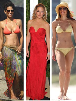 Celeb mom hottest bods of 2012!