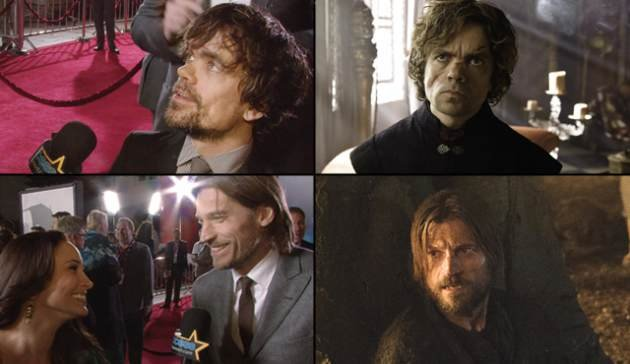 Peter Dinklage (top left and …