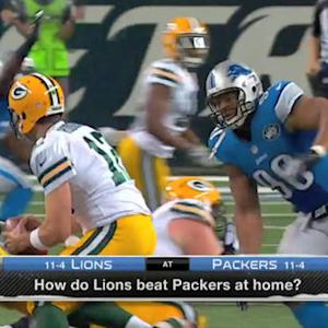 How do Detroit Lions beat Green Bay Packers in Lambeau?