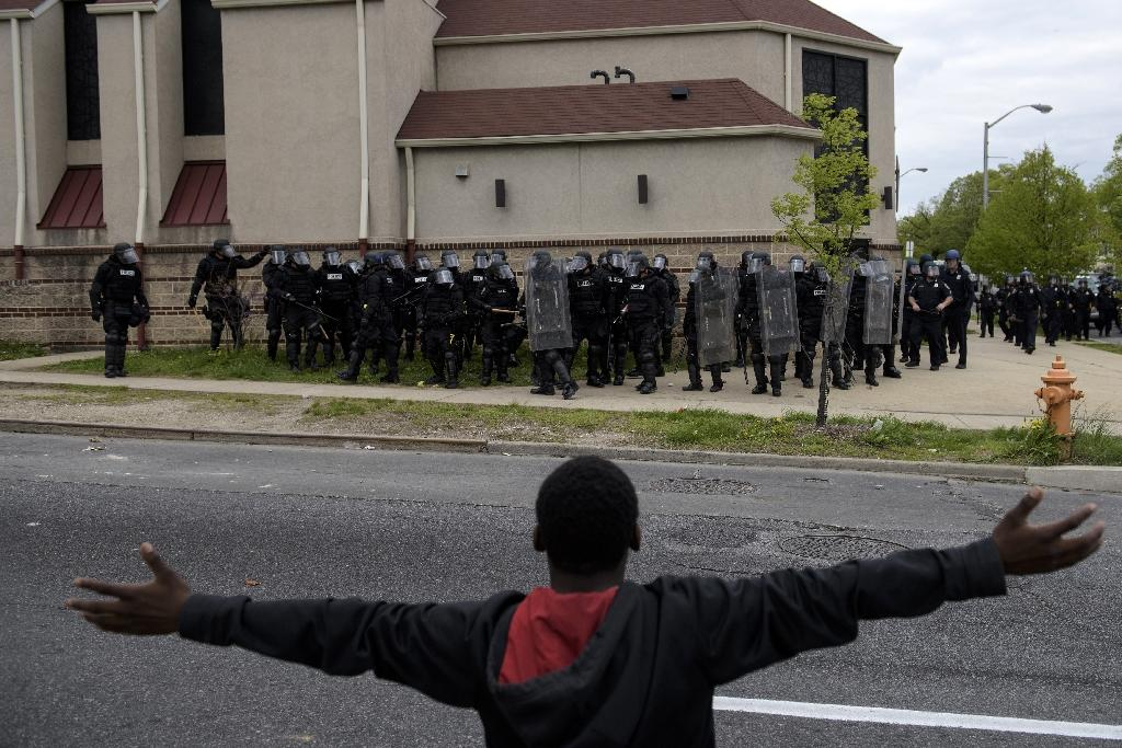 Baltimore deploys National Guard as riots erupt
