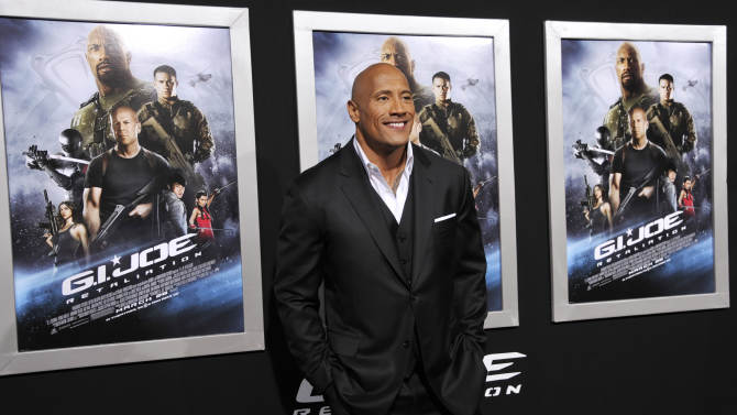 The Rock is ready to roll as WrestleMania nears