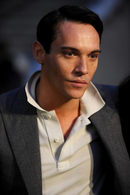 Jonathan Rhys-Meyers is seen filming on location for 'Belle du Seigneur' on, Camogli, Italy, November 10, 2010 -- Getty Images