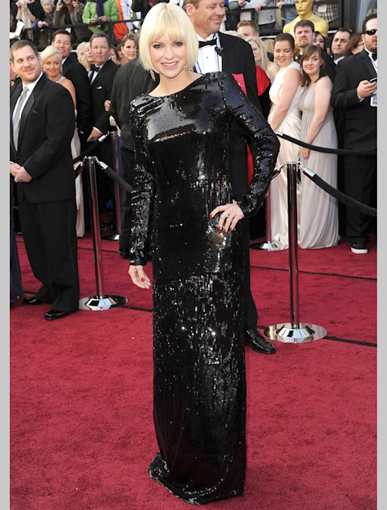 Oscars 2012: Anna Faris