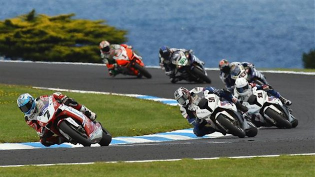 Superbike Phillip Island Carlos Checa 2011