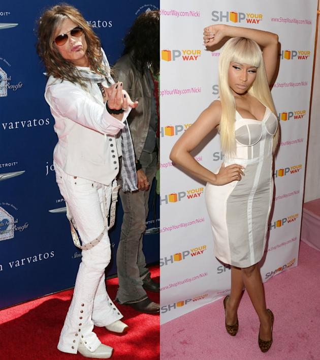 Steven Tyler vs. Nicki Minaj