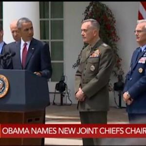Obama: Pleased to Nominate Dunford as Joint Chiefs Chair