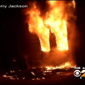 New Video Shows Fire That Destroyed Homes Of 4 Families
