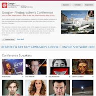 The Google+ Photographer&#39;s Conference homepage http://gpluspc.com/