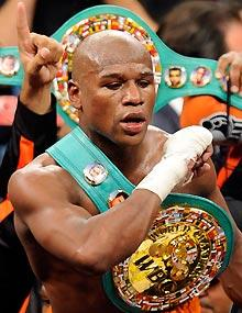 Mayweather turns jail time into a marketing event