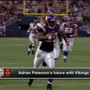 Does running back Adrian Peterson have a future with the Minnesota Vikings?