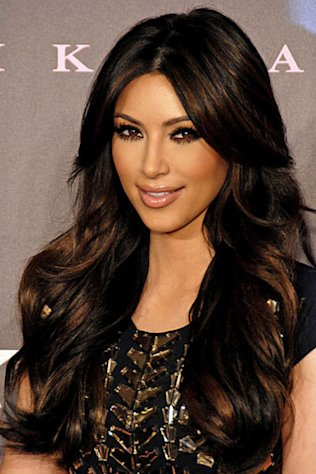 Kim Kardashian has worn peplum dresses on numerous occasions.
