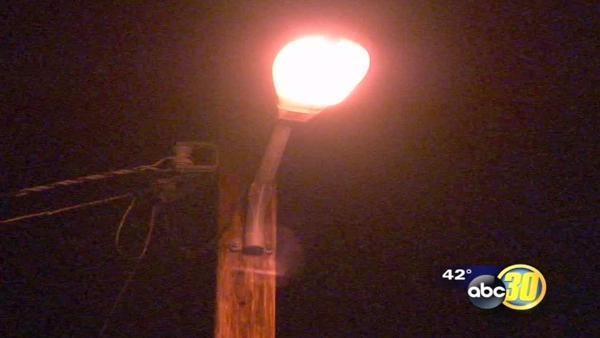 Streetlights will turn off in Fresno County community of Calwa