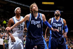 Carter leads Dallas to 100-77 win over Minnesota