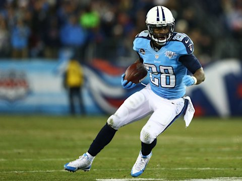 chris johnson titans