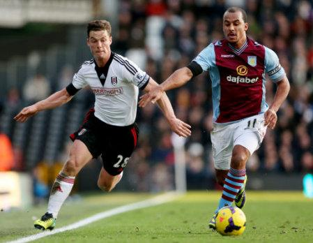 Soccer - Barclays Premier League - Fulham v Aston Villa - Craven Cottage