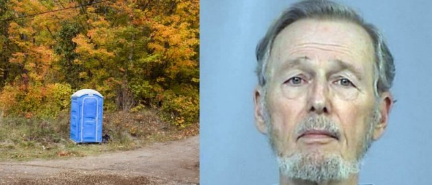 Retired ethics professor (and pastor) busted for leaving sick notes in porta-potties