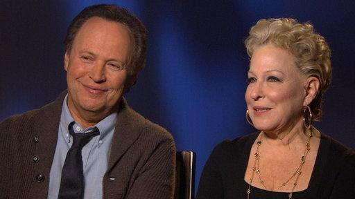Billy Crystal & Bette Midler Talk Taking Care of the Grandkids in 'Parental Guidance'
