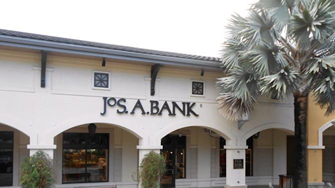 FILE - This undated file photo provided by JoS. A. Bank, shows a JoS. A. Bank store at the Shops at Midtown Miami in Miami, Fla. Jos. A. Bank is rejecting a takeover offer from competitor Men's Wearhouse, saying the $1.54 billion bid is too low. Jos. A. Bank Clothiers Inc. on Monday, Dec. 23, 2013 said its board unanimously rejected the offer. The Hampstead, Md., company said it will continue to look into acquisition opportunities that would create value for its shareholders. (AP Photo/JoS. A. Bank, File)