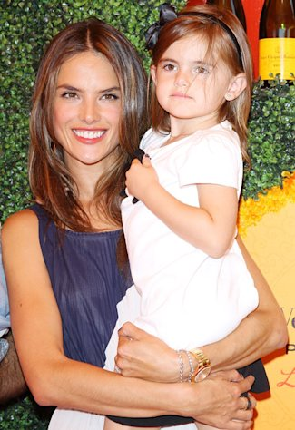 "Model Alessandra Ambrosio: My Daughter Anja, 4, Is Already a ""Pro"" on the Runway!"