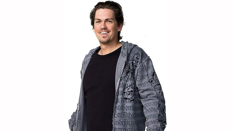 "Steve Howey as Kev in ""Shameless."""