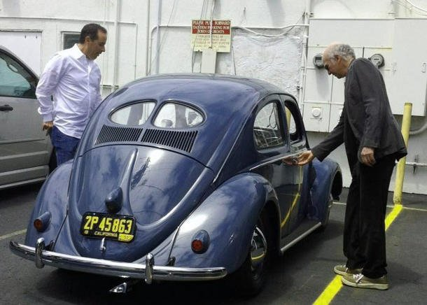 Jerry Seinfeld 1952 VW Larry David