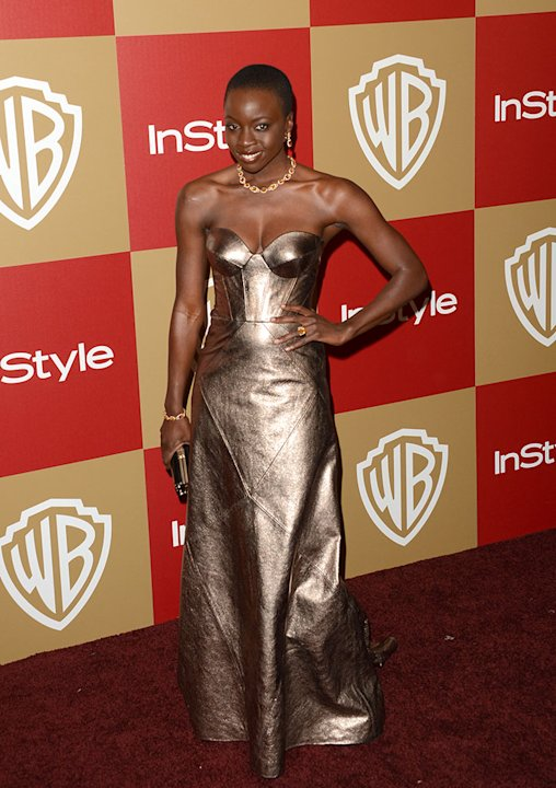 14th Annual Warner Bros. And InStyle Golden Globe Awards After Party - Arrivals: Danai Gurira