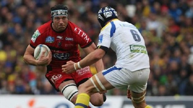 Nick Kennedy, left, struggled to get into the Toulon team when he first moved to France