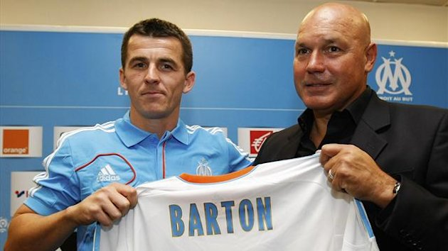 Joey Barton and Jose Anigo (Reuters)