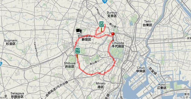 Man runs 13-mile Apple-shaped route in honor of Steve Jobs      (Yahoo! News)
