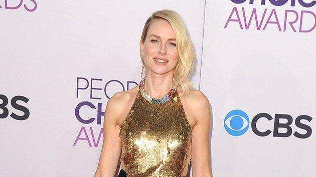 BEST: Naomi Watts.  Princess Diana would approve. Watts, who will play the icon in a movie this year, is stunning in a dramatic black and gold backless gown.