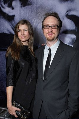 Director James Gray and wife Alexandra at the New York premiere of Columbia Pictures' We Own the Night