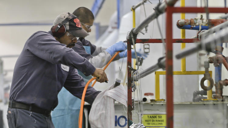 US worker productivity rises at modest pace