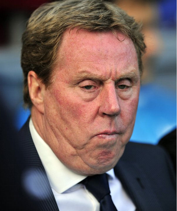 Tottenham Hotspur's English Manager Harry Redknapp  AFP PHOTO/GLYN KIRKGLYN KIRK/AFP/GettyImages AFP/Getty Images