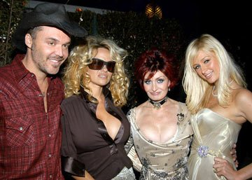 David LaChapelle, Pamela Anderson, Sharon Osbourne and Paris Hilton
