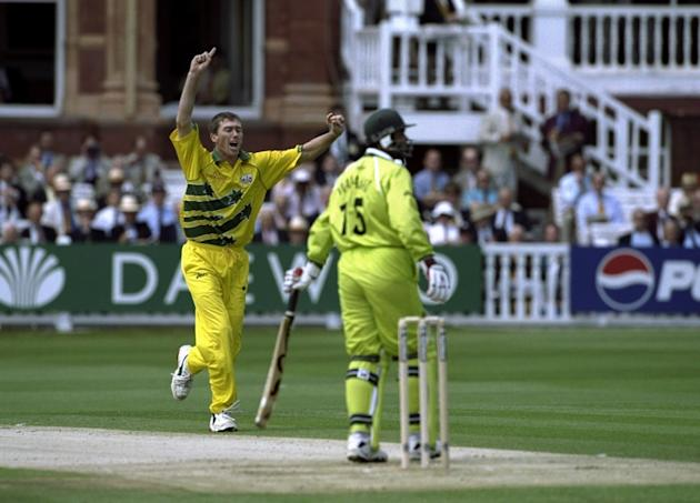 Glenn McGrath dismisses Wajahatullah Wasti