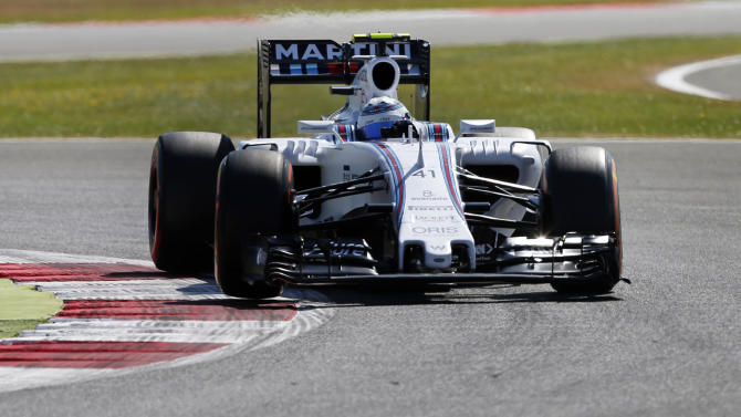 CAR: Williams test driver Susie Wolff of Britain during practice