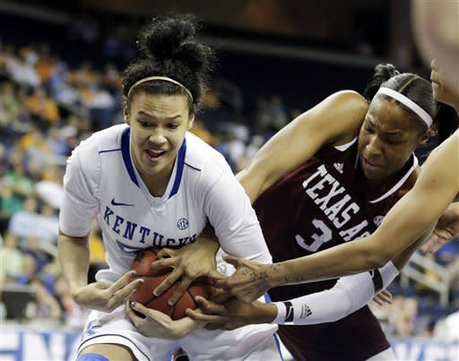 Bone, Texas A&M top Kentucky 75-67 in SEC final