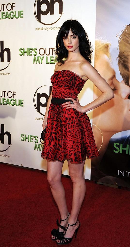 She's Out of My League 2010 Las Vegas Premiere Krysten Ritter