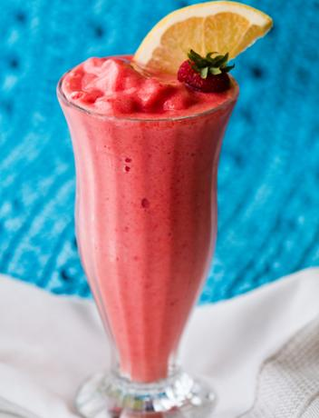 Pretty in Pink Grapefruit Smoothie