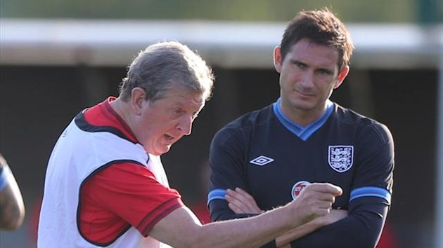 Frank Lampard, Roy Hodgson. (PA Photos)