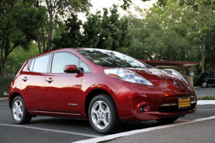 With tax incentives, the 2011 Nissan Leaf costs less than the average new car.
