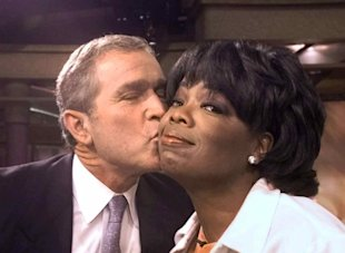 Bush heads to Oprah