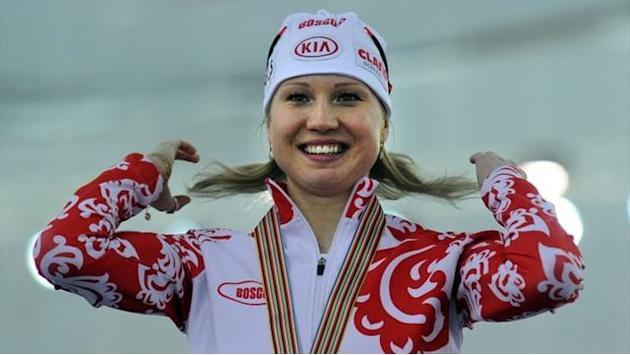 Speed Skating - Fatkulina claims Russia's second gold in three days