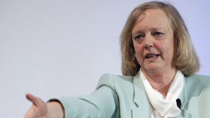 HP CEO's turnaround message flops on Wall Street