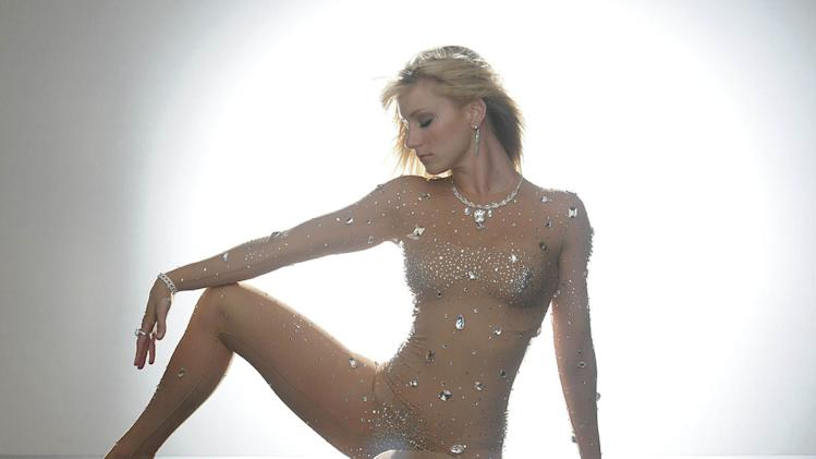 "Brittany (Heather Morris) dreams of being Britney Spears in the ""Britney/Brittany"" episode of ""Glee."""