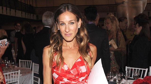 Sarah Jessica Parker Launching Shoe Collection