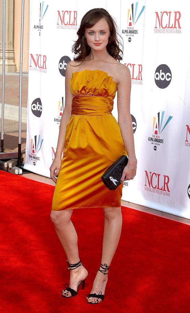 Alexis Bledel at the 2006 NCLR ALMA Awards.