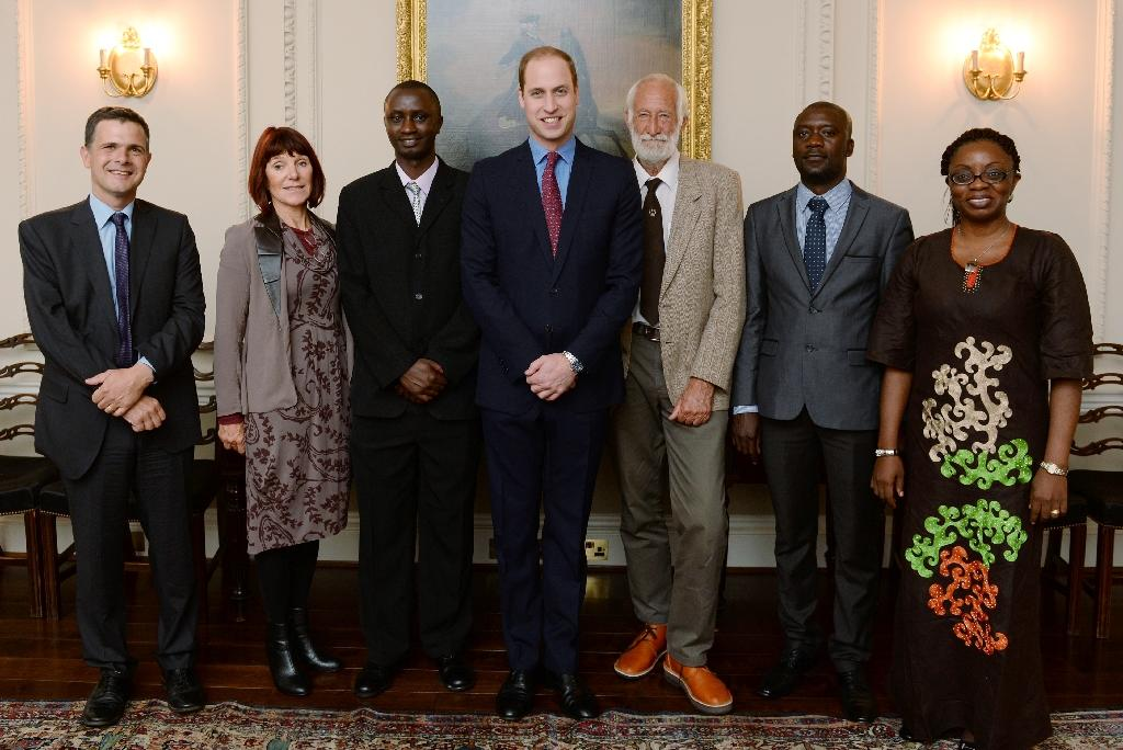 Britain's Prince William honours Africa conservationists